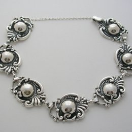 Sterling Silver Bracelet, Margot de Taxco Molds