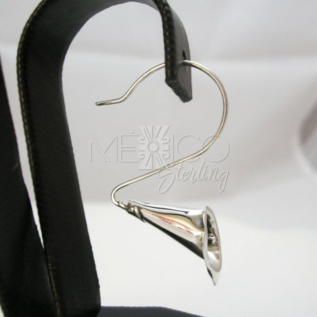 Contemporary Taxco Silver Earrings