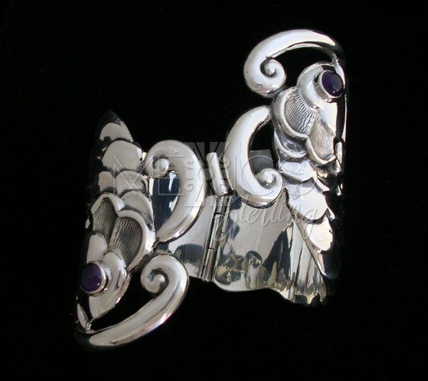 Old Taxco Reproduction Silver Cuff