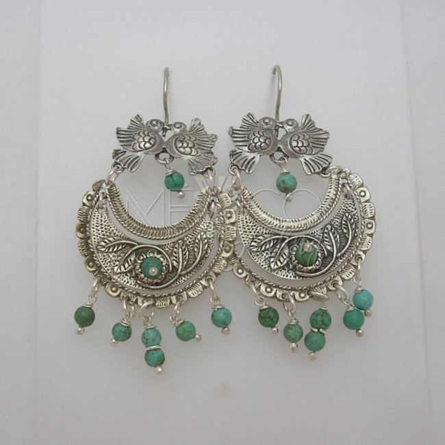 Clic Mexican Sterling Silver Earrings