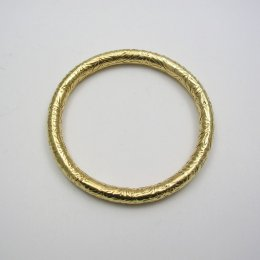 Taxco Embossed Tumbaga Bangle