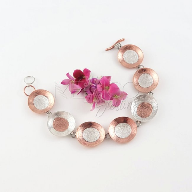 Bright Universe Mixed Metals Bracelet