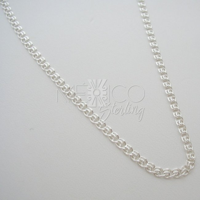 Taxco Long Chain Sterling Silver