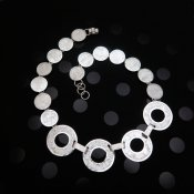 Taxco Silver Wishing Coins Necklace