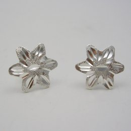 Taxco Silver Stud Earrings