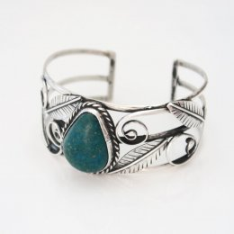 Taxco Happy Jungle Silver Cuff Bracelet