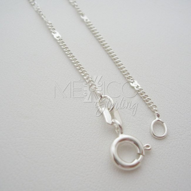 Taxco Sterling Silver Chain Necklace