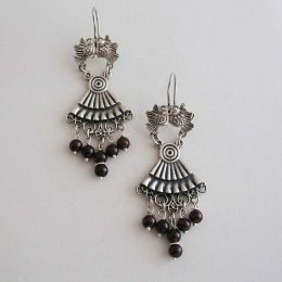 Flying Bliss Taxco Silver Earrings