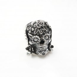 Mexican Sterling Silver Catrina Ring