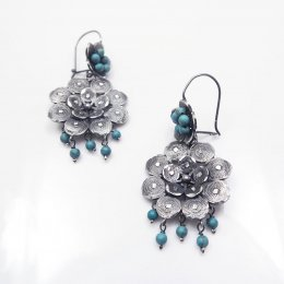 Filigree Enchanting Flower Earrings
