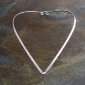 Modern Taxco Sterling Silver Arrow Choker