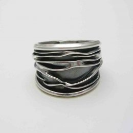 Mexican Oxidized Silver Ring