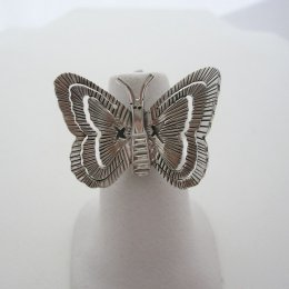 Butterfly Mexican Silver Sterling Ring