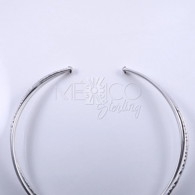 Taxco Silver Twisted Reality Choker