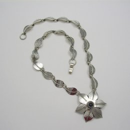 Taxco Silver Designer Necklace