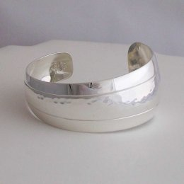Taxco Mermaid Tail Silver Cuff