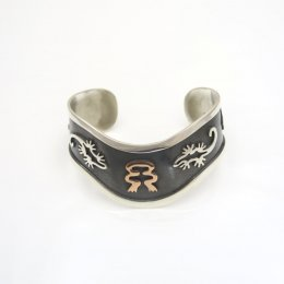 oxidized Silver Hopi Dream Cuff