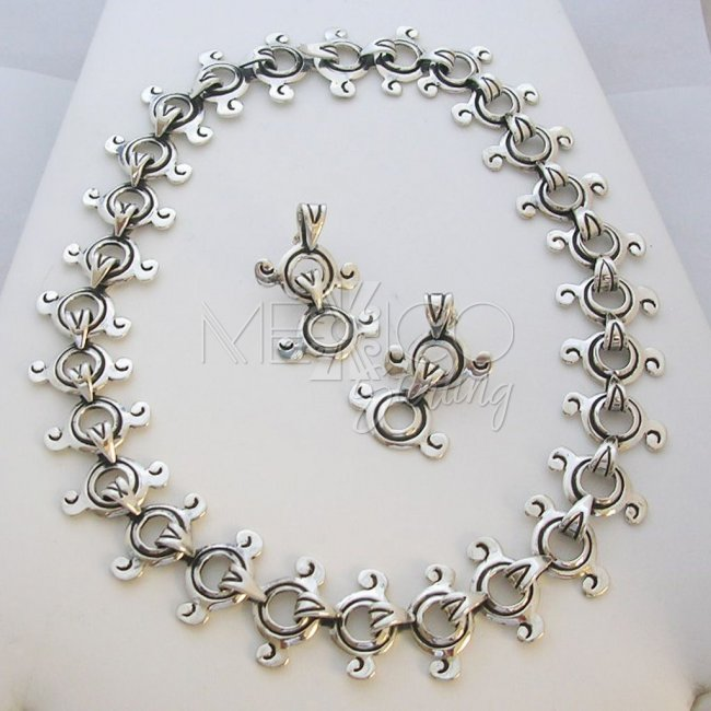 Silver W.Spratling Reproduction Necklace