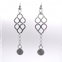 Long Silver Dreams Taxco Earrings