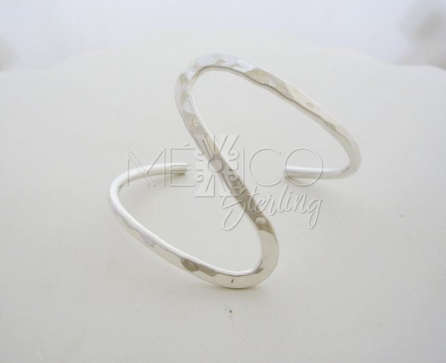 Taxco Sterling Silver Twisted Cuff