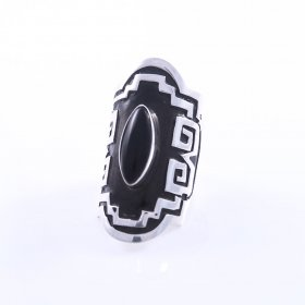 Silver Mayan Dream Adjustable Ring