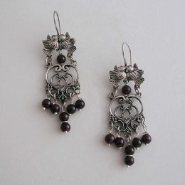 Harmonious Song Taxco Silver Earrings