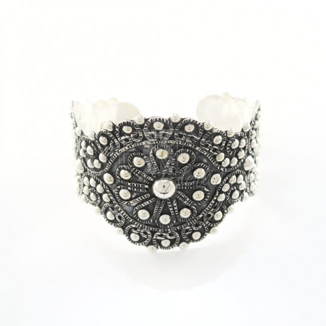 Taxco Baroque Bliss Silver Cuff