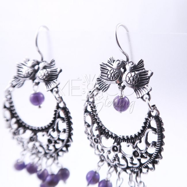 Mañanitas in Taxco Silver Earrings