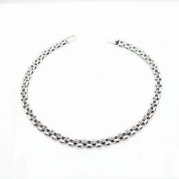 Contemporary Taxco Silver necklace