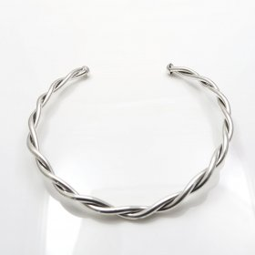 Taxco Silver Braided Illusion Choker