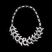 William Spratling Reproduction Silver Necklace
