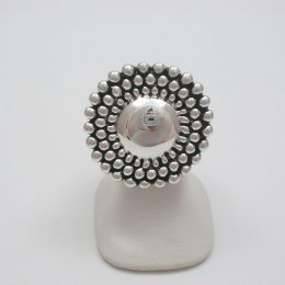 Taxco Sterling Silver Mirror Ring