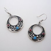 Taxco Silver Warm Morning Earrings