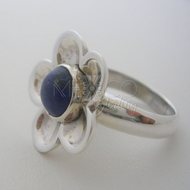 Handmade Silver 925 Ring with Stone