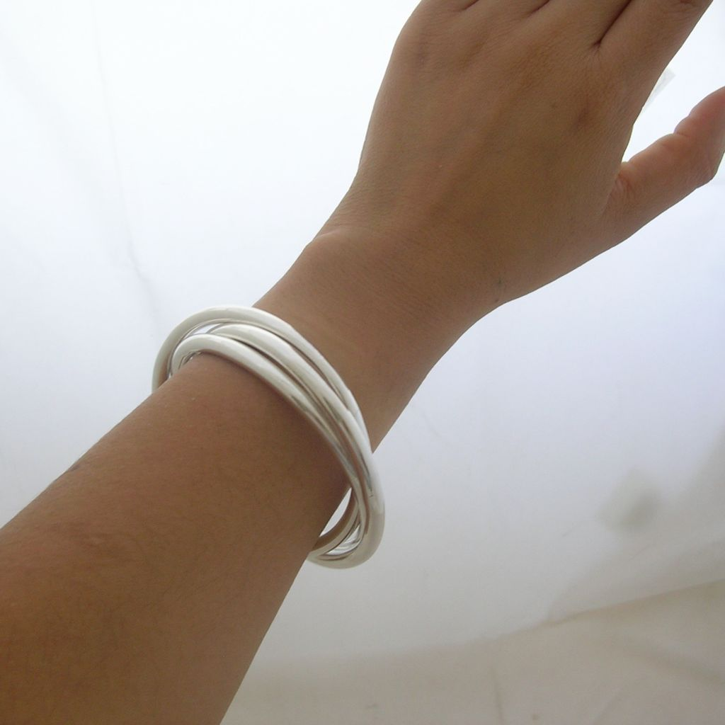 Taxco 925 Sterling Silver Bangle