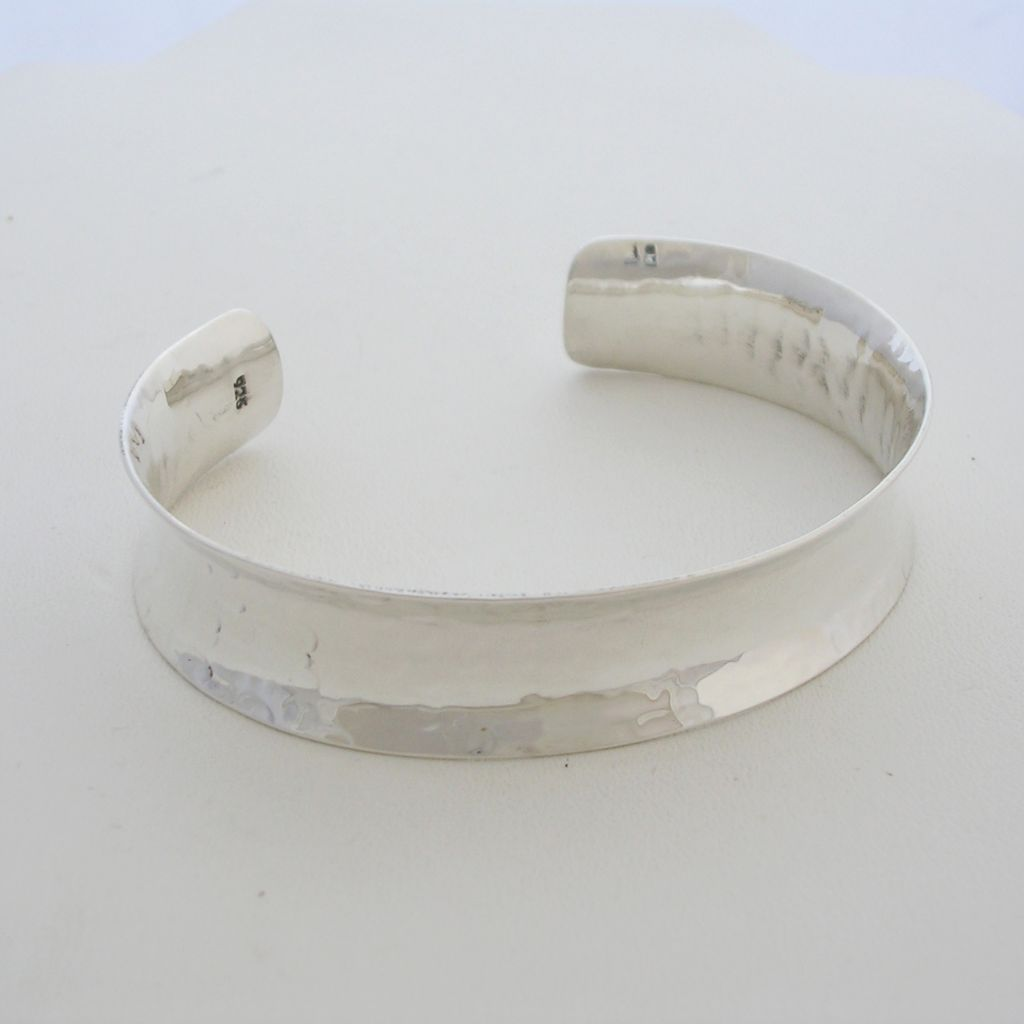 Taxco Silver Delicate Hammered Cuff