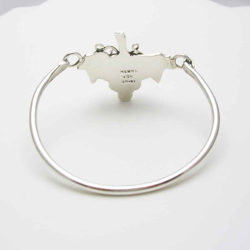 Nice Sterling Silver Grape Vines Bracelet