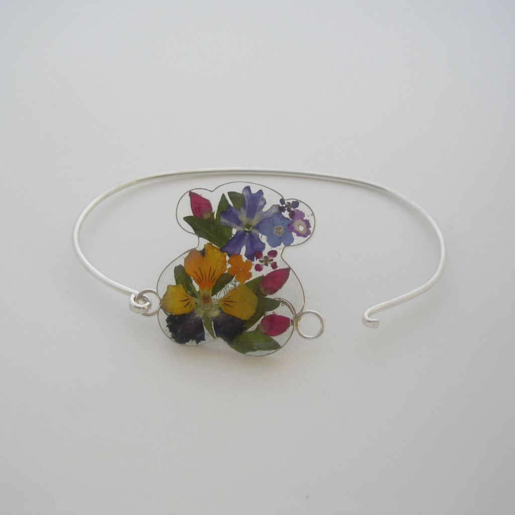 Charming Sterling Silver and Still Nature Bracelet