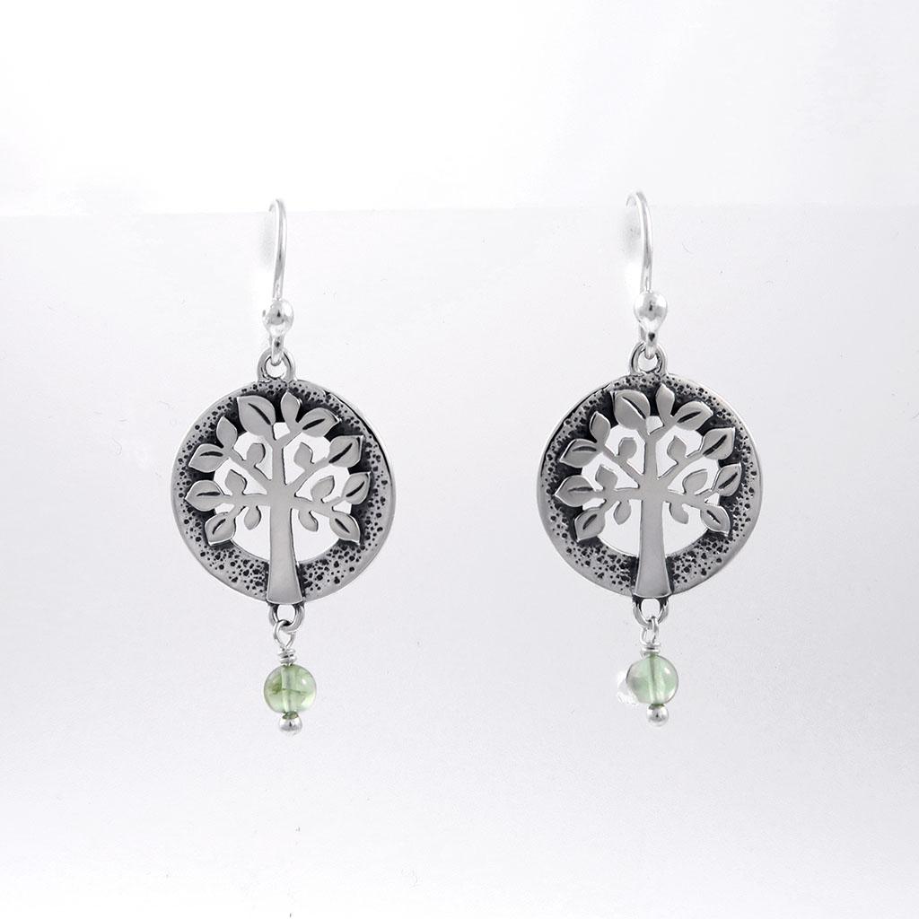 Statement Earrings Taxco Silver Earrings Palm Tree Earrings