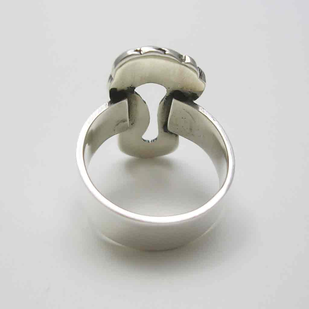 Charming Taxco Sterling Silver Foot Ring